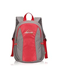Veevanpro 10L Kids' Backpacks Mini Rucksack Luggage Travel Gear Hot Coral