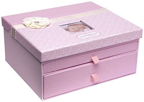 C.R. Gibson Keepsake Chest, (Memory Box Keepsake Box)
