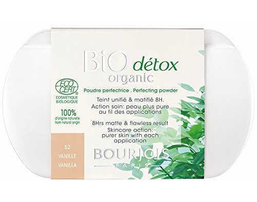 Bourjois Bio Detox Perfecting Powder for Women, No. 52/Vanilla, 0.31 Ounce