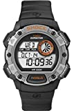 Timex Expedition Base Shock Men's Quartz Watch with Grey Dial Digital Display and Black Rubber Strap T49978