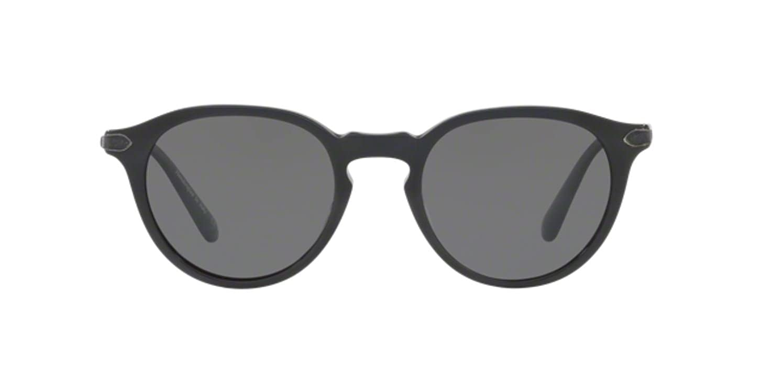 Authentic Oliver Peoples 0 OV 5353 SQ RUE MARBEUF 1596K8 BLACK GREYPolarized Sunglasses