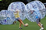 FREE SHIPPING Inflatable Bumper Bubble Balls Body Zorb Ball Soccer Bumper Football 1.5m Blue