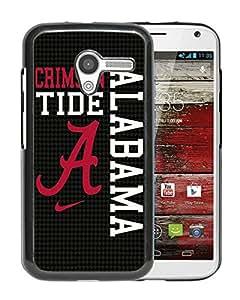 Fashionable And Unique Designed Cover Case With Southeastern Conference SEC Football Alabama Crimson Tide 8(1) Black For Motorola Moto X Phone Case