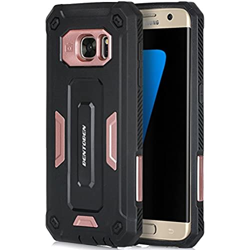 Galaxy S7 Edge Case, BENTOBEN Hard PC and Soft TPU Hybrid Cover Dual Layer Rugged Bumper Shockproof Protective Sales