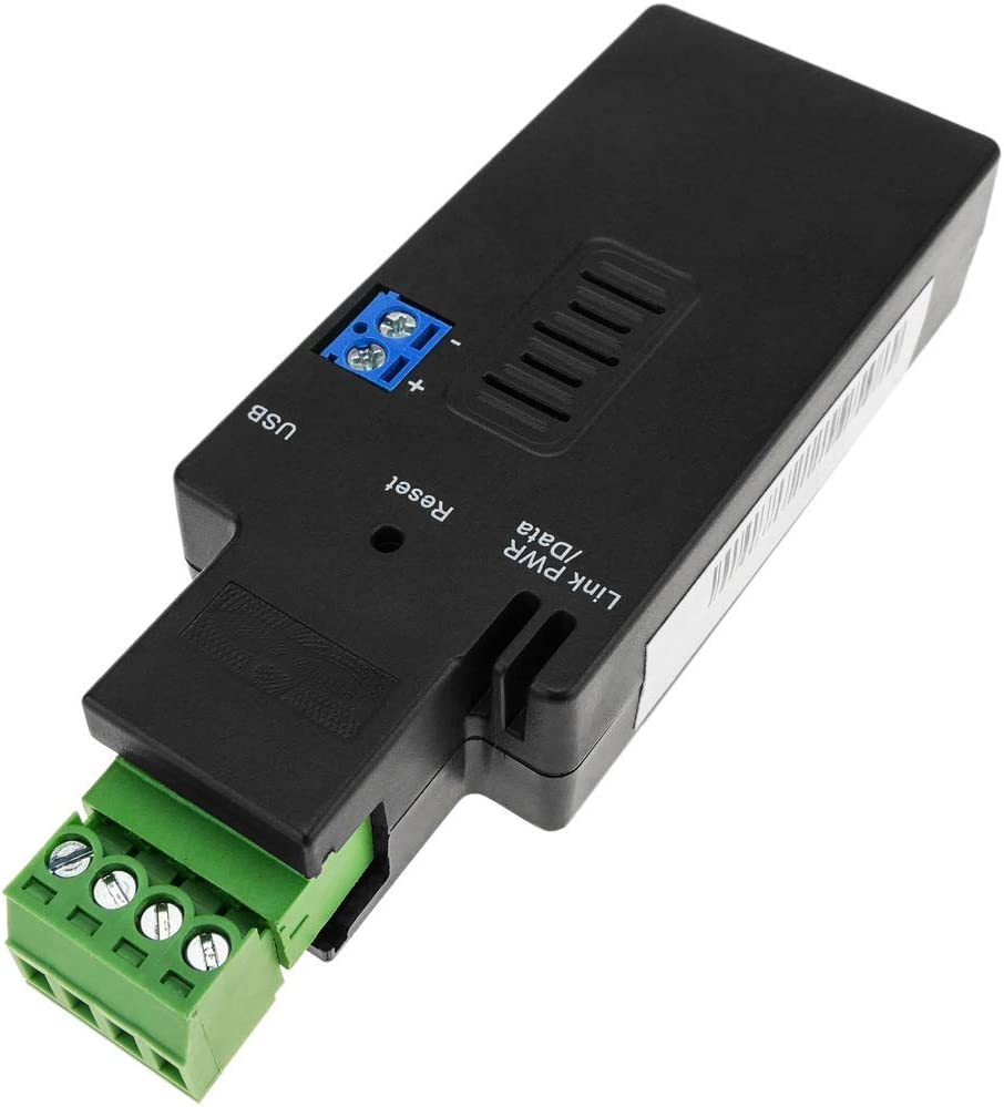 BeMatik - Adaptador inalámbrico Bluetooth v4.2 BLE a Serie RS485 Compatible con Lector Beacon