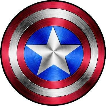 Captain America Civil War Shield Vinyl Sticker Decal Cars Tr