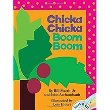 Chicka Chicka Boom Boom: Book & CD