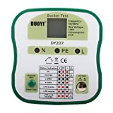 DUOYI DY207 3-Wire Receptacle Socket Tester