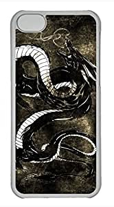 iPhone 5c case, Cute Dragon 2 iPhone 5c Cover, iPhone 5c Cases, Hard Clear iPhone 5c Covers