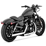Vance & Hines Straightshots HS Slip Ons Chrome 16819