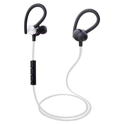 Argom Tech Ultimate Sound EDGE Wireless Bluetooth Earphones Ergonomic and Sweat Resistant BLACK/WHITE/