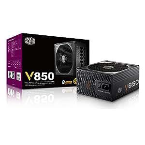 Cooler Master V850 - Fully Modular 850W 80 PLUS Gold PSU with Silencio Silent 135mm fan (6th Generation Skylake Ready)