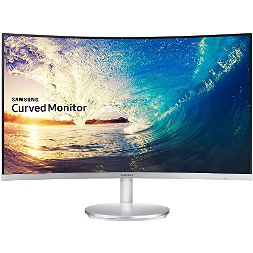 Samsung C27F591 27-Inch Curved Monitor (Built-in Speaker Included) by Samsung