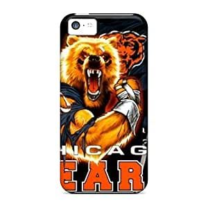 Snap-on Case Designed For Iphone 5c- Chicago Bears