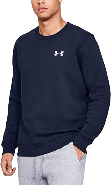 Under Armour Herren Rival Solid Fitted Crew Oberteil