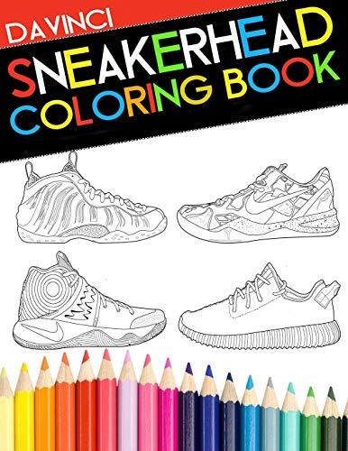 Sneakerhead Coloring book 1