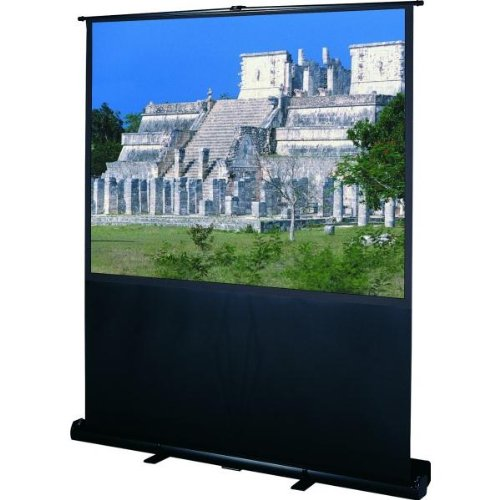 Deluxe Insta-Theater Matte White Portable Projection Screen Viewing Area: 36