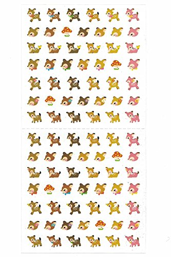 [DECO FAIRY] Cute Cat Kitty Kitten in Different Poses Stickers (106 Stickers) ( Bambi)