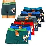 6 Knocker Boys Boxer Shorts Seamless Transformers Spandex Kids Soft Underwear S