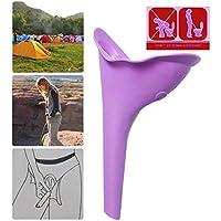 Urinoir féminin pour uriner debout ou accroupi, réutilisables et portable sécurisée, idéal pour les déplacements comme voyage, le camping, randonnée, escalade
