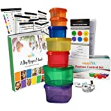 21 Day smartYOU 7 Piece Portion Control Containers Kit (COMPLETE GUIDE + FREE 21 DAY PDF PLANNER + RECIPE E-BOOK...
