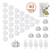 Outlet Plug Covers Baby Proofing, MBigtree Child Proof Electrical Protector Caps Kit for Child Safety (35 Plug Covers + 5 Keys)