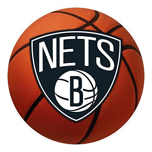 (FANMATS NBA Brooklyn Nets Nylon Face Basketball Rug)