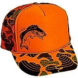 e64b6381825373 Amazon.com: Dog & Hunter Orange Camouflage Camo Mesh Trucker Hat Cap ...