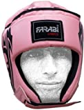 Farabi boxing head guard mix martial arts kick training pink protection headgear (SMALL)