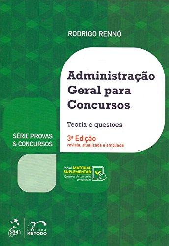 Série Provas & Concursos - Administração Geral para Concursos