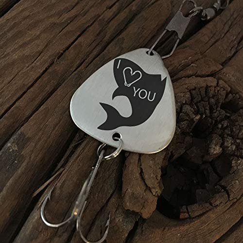 Amazon Com I Love You With Fish Fishing Lure Valentines Day Gift