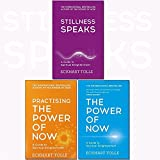 Eckhart Tolle The Power of Now Collection 3 Books Set, (The Power of Now: A Guide to Spiritual Enlightenment, Practising the Power of Now and Stillness Speaks: Whispers of Now)