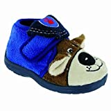 Mirak Bungle Childrens Touch Fastening Slipper/Little Boys Slippers/Childrens Slippers (11.5 US Junior) (Blue)