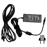 HQRP AC Adapter for Casio ADE95100 AD-E95100 ADE95100L AD-E95100L ADE95100LE AD-E95100LE Replacement Power Supply Cord plus HQRP Euro Plug Adapter