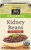 365 Everyday Value, Organic Kidney Beans No Salt Added, 13.4 Ounce