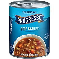 Progresso Soup, Traditional, Beef Barley...