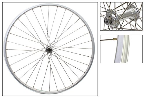 Alloy Road Wheels (Wheel Front 27 x 1-1/4 Alloy Rim, Silver, 36H, Schrader)