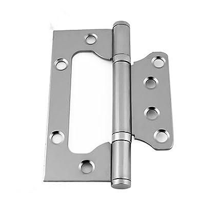 Merveilleux Liangxiang 2 Pcs 4 Inch Bi Fold Door Hinge Hardware Non Mortise Hinge Satin