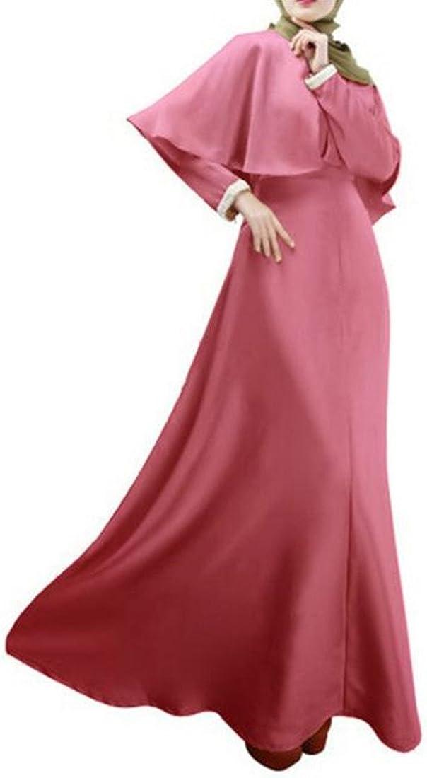 Conffetti Womens Islamic Malaysia Muslim Gown Party Long Sleeve Abaya Maxi Dress