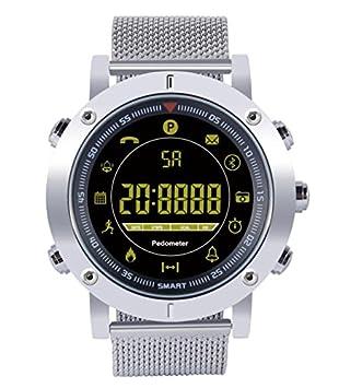 Diggro DI04 Pro smartwatch Reloj Inteligente IP68 5ATM Reloj Luminoso podómetro Mensaje recordatorio 600 mAh 16 Meses de Tiempo de Espera Largo para ...