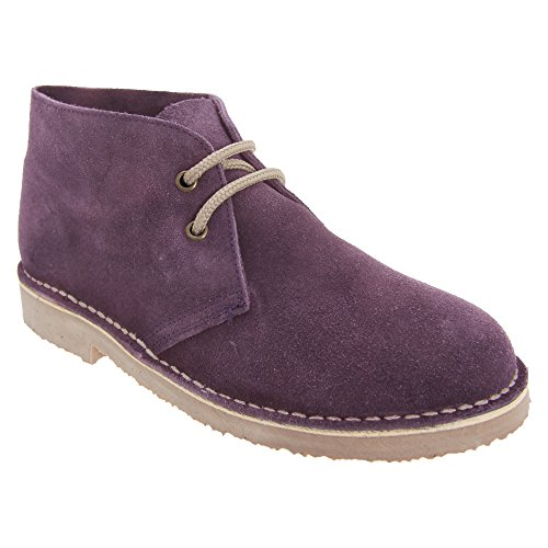 Grey Roamer Unlined Desert Real Womens Suede Boots qqg1Sf4