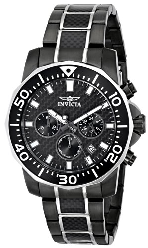 Invicta Men's 17257SYB 'Pro Diver' Stainless Steel Two-Tone Casual Watch