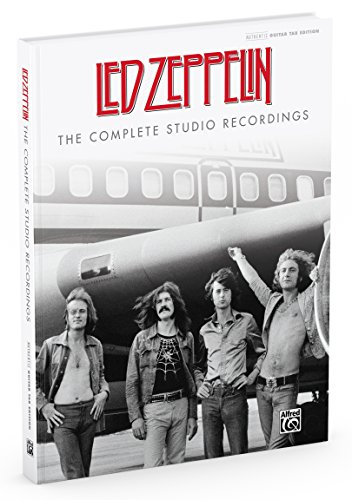Led Zeppelin -- The Complete Studio Recordings: Authentic Guitar TAB, Hardcover Book (Guitar Songbook) by Alfred