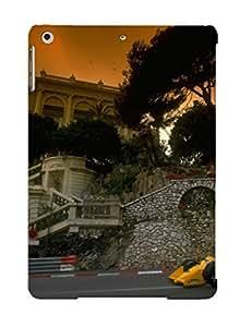 lintao diy Ellent Design Ayrton Senna In Monaco Phone Case For Ipad Air Premium Tpu Case For Thanksgiving Day's Gift