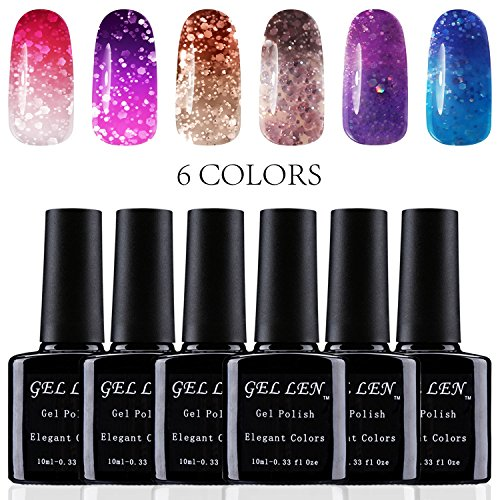 Gellen Color Changing gel Nail Polish