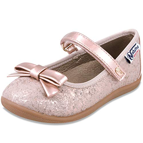 603f3abd9b81 Naturino Express Kids Marietta Girls Slip On Mary Jane Flat Dress Shoe  Loafer