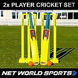 Backyard Cricket Set   Full Kwik Cricket Set   Bat, Stump, Bail, Ball, Bag Sets [Senior]
