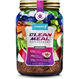 Clean Meal Replacement | 14 Meals Per Resealable Pouch | Lose weight, Burn Fat & Detox with the Easiest Most Delicious Meal Replacement Ever | Healthy Whole Food Meal (Salted Caramel Coffee Latte)