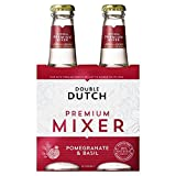 Double Dutch Pomegranate & Basil - 4 x 200ml (27.05fl oz)