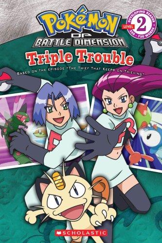 Pokemon: Triple Trouble (Developing Reader, Level (Triple Level)
